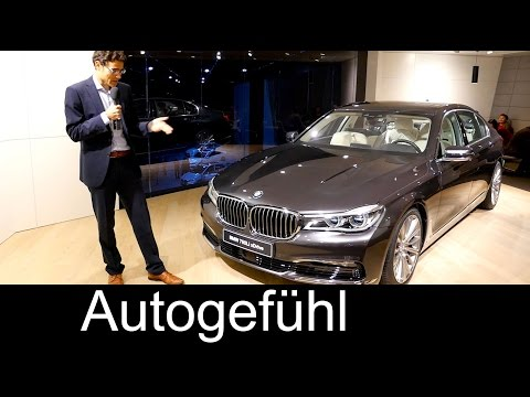 IAA Review BMW 7-Series 750Li XDrive 7er long version lang - Autogefühl