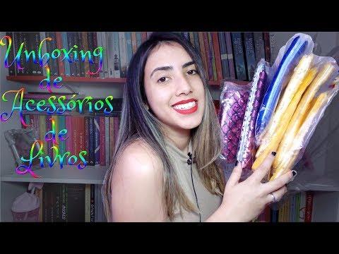 ? UNBOXING | Acessórios de livros barato? | Leticia Ferfer |Livro Livro Meu