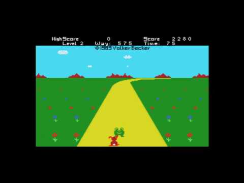 Rabbit Walk (1985, MSX, Volker Becker)