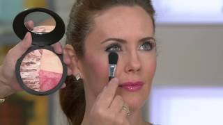 Laura Geller Baked Color & Contour Face Palette With Brush On QVC