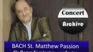 BACH St. Matthew Passion complete (Part 1) ( 1/8 )