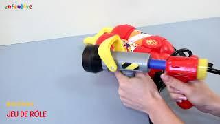 Sam le pompier, Pistolet réservoir