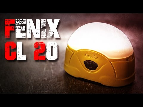 Fenix CL20 LED Campingleuchte Taschenlampe Review Test EDC (Deutsch/German)