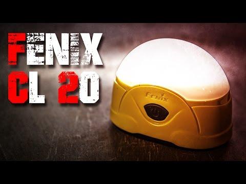 Fenix CL20 LED Campingleuchte Taschenlampe Review Test EDC (Deutsch/German)