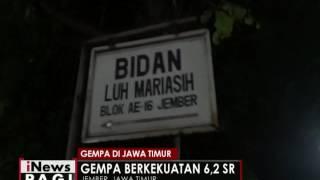 Jawa Timur Bergoyang Akibat Gempa Bumi  INews Pagi 17/11