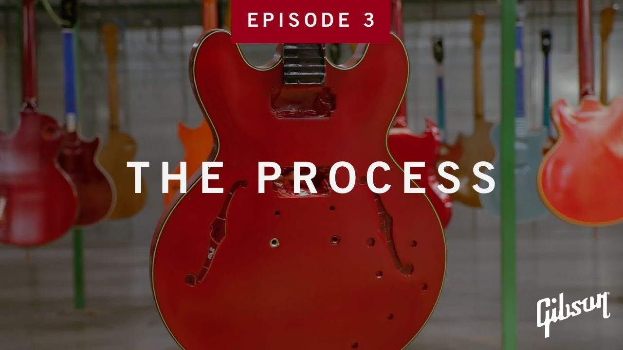 The Process: Episode 3 - How ES Guitar Bodies Are Made At Gibson USA
