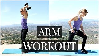 15 Minute Arm Workout Routine | Kendra Atkins by Kendra Atkins