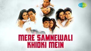 Mere Samnewali Khidki Mein with lyrics | Shaan - YouTube