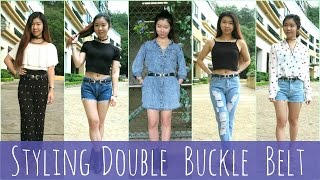 How To Style Double Buckle Belts