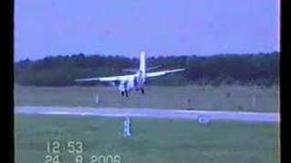 Crazy landing with L-410