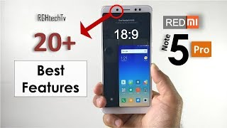 Redmi Note 5 Pro : Top 20+ Best Features | Redmi note 5 Pro Tips and Tricks
