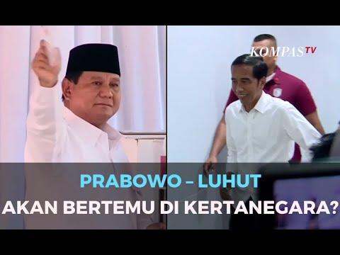 Prabowo - Luhut akan Bertemu di Kertanegara?