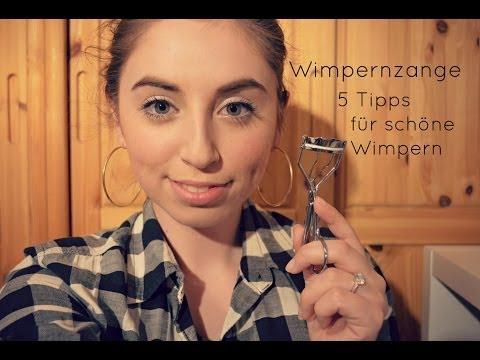 WIMPERNZANGE RICHTIG BENUTZEN - 5 TIPPS