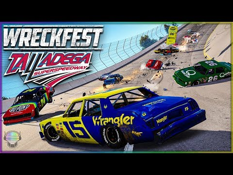 TOSSED AT TALLADEGA! | Wreckfest