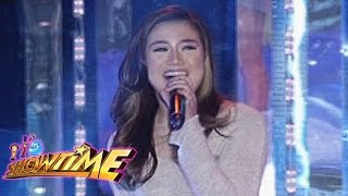 "It's Showtime Singing Mo 'To: Morissette Amon sings ""Nothing's Gonna Stop Us Now"""