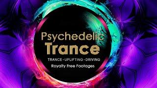 Trippy Vedic Trance Goa | Psychedelic Trance mix | DJ / VJ video background | #Trance