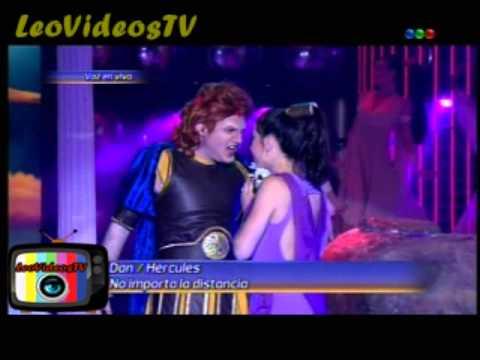 Dan es  Hercules en Tu Cara Me suena 3 #GH2015 #GranHermano