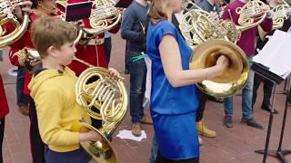 The London Horn Flashmob!