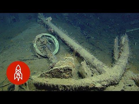 Hledání vraků na dně oceánu - Great Big Story