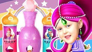 Шиммер и Шайн Волшебная Лампа Гигант Дворец Джинов Fisher-Price Shimmer and Shine Magical Light