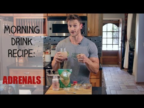 Morning Drink Recipe: Weight Loss and Adrenal Fatigue: Thomas DeLauer
