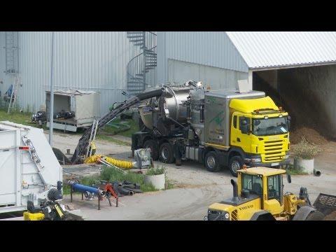 Fermenterreinigung in einer Biogasanlage | Sprecher