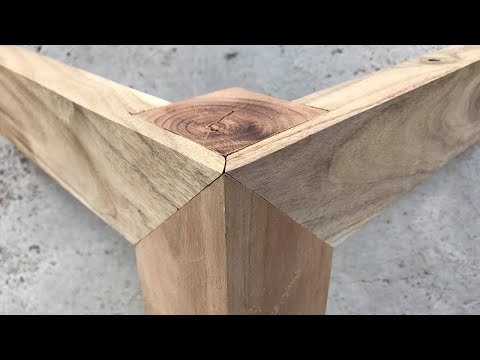 [ Timber Framing Joint ]  Amazing Wood Joints Craft  - Woodworking Skills of Master Carpenters