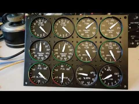 A10C engine instruments for DCS simulator - смотреть онлайн на Hah Life