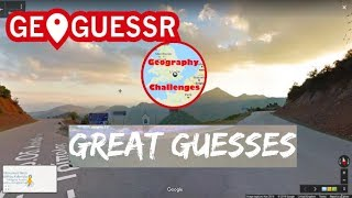 Geoguessr   Great Guesses Compilation 2 (No Moving)