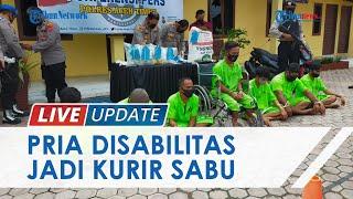 Penyandang Disabilitas di Aceh Jadi Kurir Narkoba Antarprovinsi, 7 Tersangka Lain Turut Diamankan