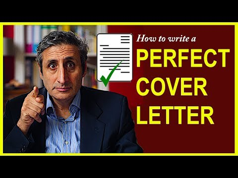How to Write a Perfect COVER LETTER in Six Steps (with Example)