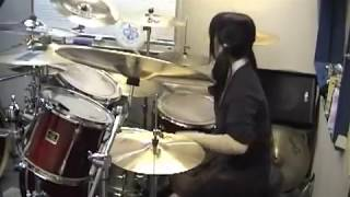 "ARCH ENEMY ""Silverwing"" Drumcover - Fumie Abe -"