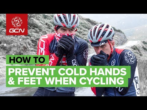 How To Prevent Cold Hands & Feet Whilst Cycling In Winter
