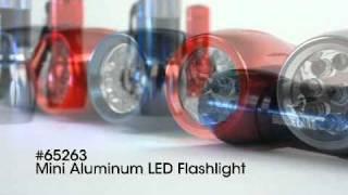Mini Aluminum LED Flashlight