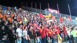 reggina - MESSINA 0-1 lo spettacolo dei tifosi del Messina 12/09/14 NicetoTV