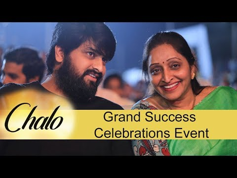 Chalo Movie Grand Success Celebrations Event