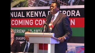 Wamalwa: Diaspora plays key role in Kenya's growth - VIDEO