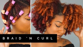 Quick Braid And Curl (13 Rods) | Natural Hair Products For Thick or Kinky Black Hair