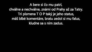 Majk Spirit-Som Aký Som Lyrics