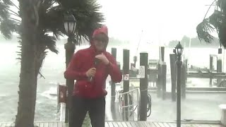 Hurricane Florence starts lashing North Carolina coast
