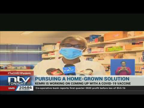 Kenyan scientists working on several potential COVID-19 vaccines