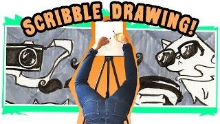 SCRIBBLE CHALLENGE - Upsidedown Hipster Ballet