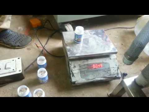 Asafoetida Powder Filling Machine