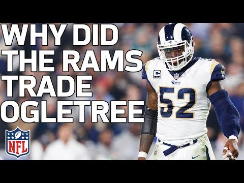 Why Did the Rams Trade Alec Ogletree to the Giants?   Total Access   NFL