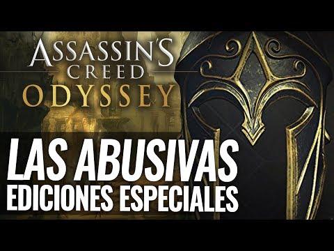 Assassin's Creed Odyssey   Toda la información sobre las EDICIONES COLECCIONISTAS ABUSIVAS