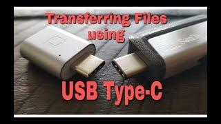 TransferringfilesusingUSBType-C