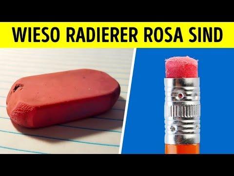 Deshalb sind Radierer rosa