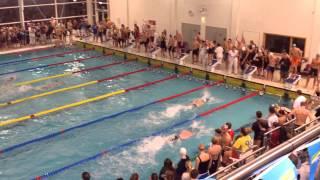 Ealing Swimming Club, Men's 6x50 Relay, Basildon, 12/10/13