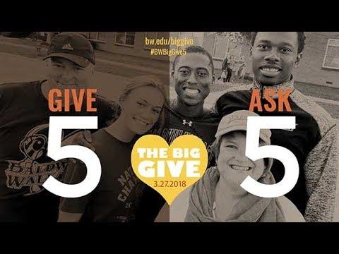 2018 Big Give at Baldwin Wallace University