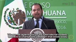 Raul Elizalde Addresses the President of Mexico about Medical Cannabis Access